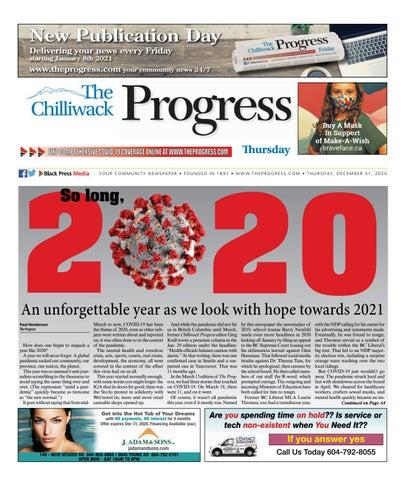 Chilliwack Progress, December 31, 2020