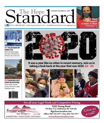 Hope Standard, December 31, 2020
