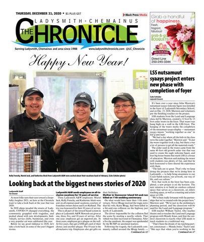 Ladysmith Chronicle, December 31, 2020