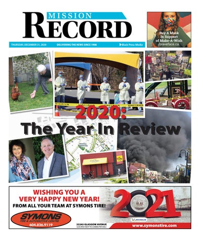 Mission City Record, December 31, 2020