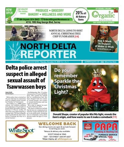 North Delta Reporter, December 31, 2020