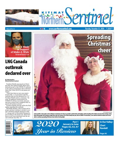 Kitimat Northern Sentinel/Northern Connector, December 31, 2020