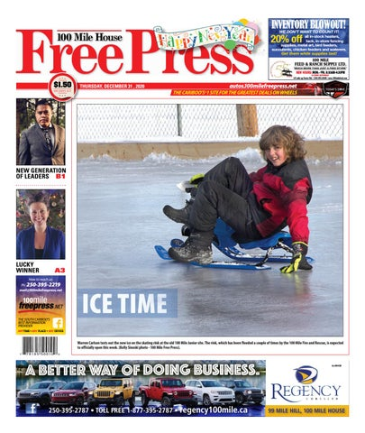 100 Mile House Free Press, December 31, 2020