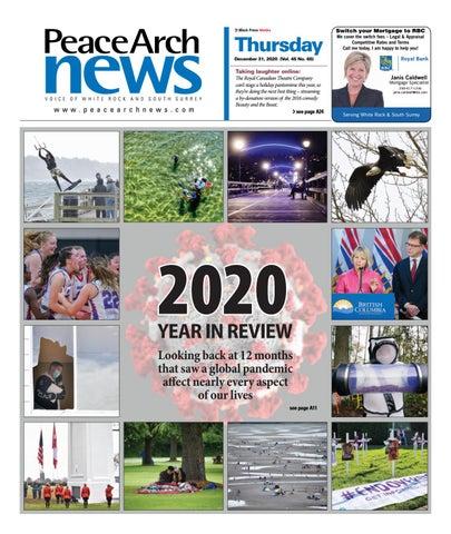 Peace Arch News, December 31, 2020