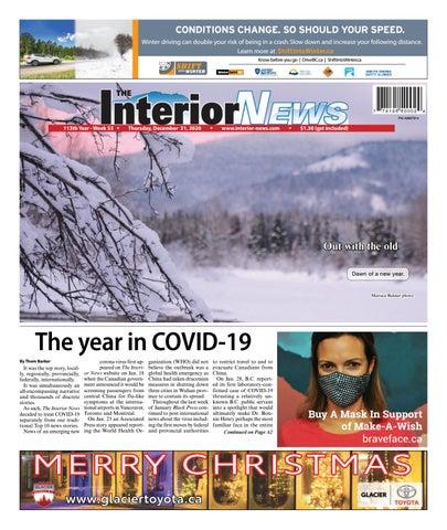 Smithers Interior News, December 31, 2020