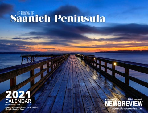 Peninsula News Review Calendar 2021, Celebrating the Peninsula