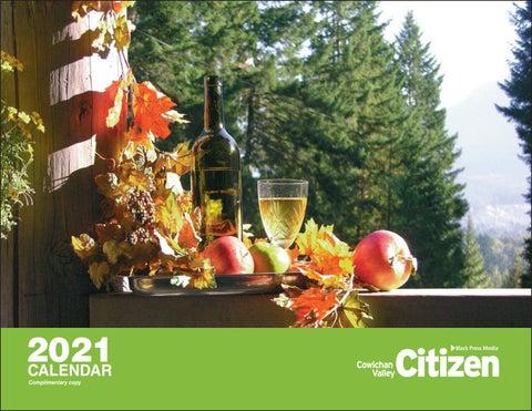 2021 Cowichan Valley Calendar
