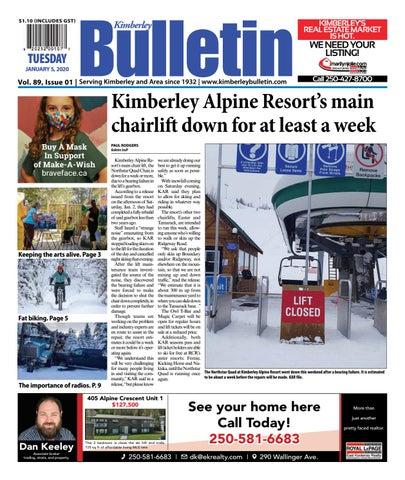 Kimberley Daily Bulletin, January 5, 2021