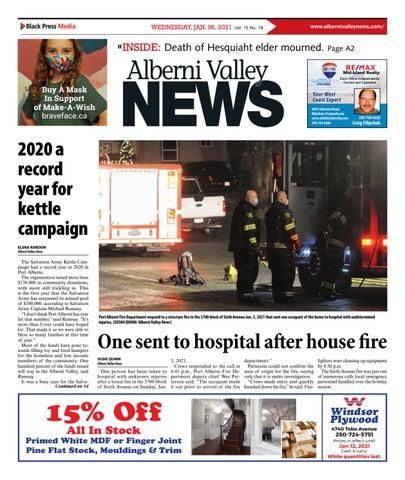 Alberni Valley News, January 6, 2021