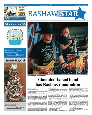 Bashaw Star, January 6, 2021