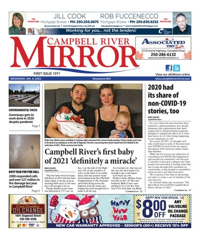 Campbell River Mirror, January 6, 2021
