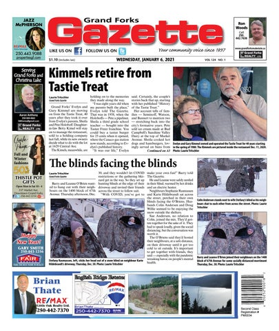 Grand Forks Gazette/West Kootenay Advertiser, January 6, 2021