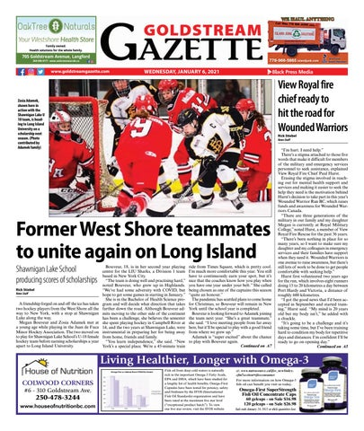 Goldstream News Gazette, January 6, 2021