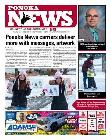 Ponoka News, January 6, 2021