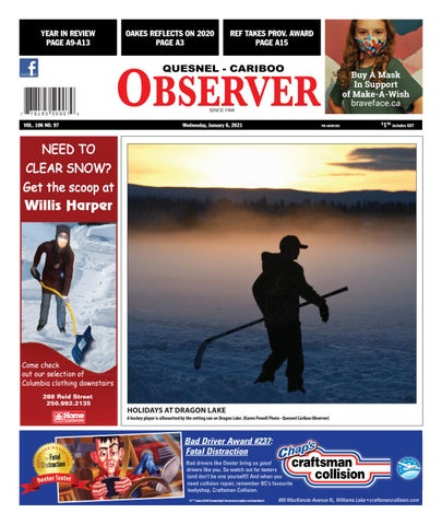 Quesnel Cariboo Observer, January 6, 2021