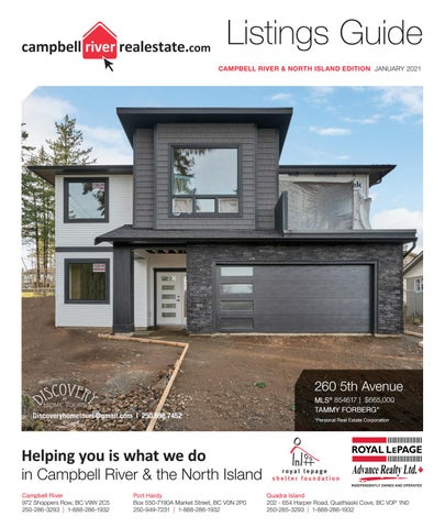 January 06, 2021 Campbell River Mirror