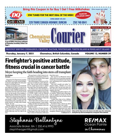 Chemainus Valley Courier, January 7, 2021