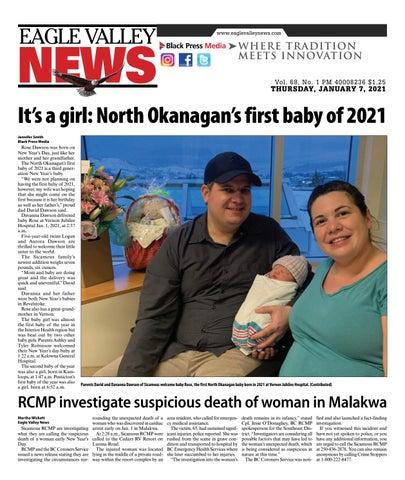 Eagle Valley News, January 7, 2021