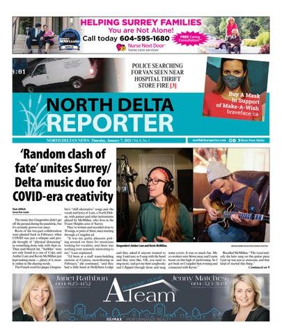 North Delta Reporter, January 7, 2021