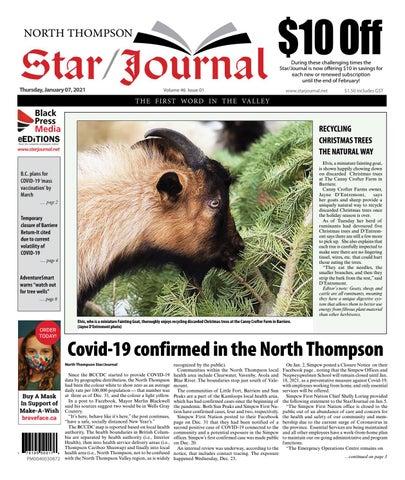 Barriere Star Journal, January 7, 2021