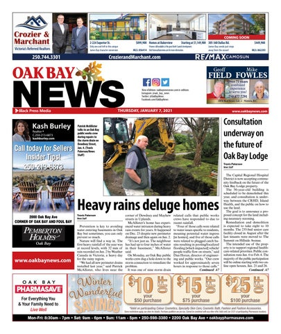 Oak Bay News, January 7, 2021