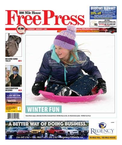 100 Mile House Free Press, January 7, 2021