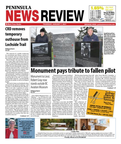 Peninsula News Review, January 7, 2021