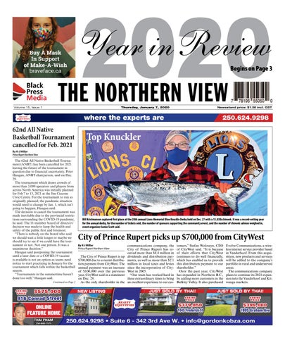 The Northern View/Northern Connector, January 7, 2021