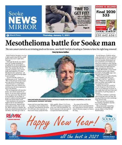 Sooke News Mirror, January 7, 2021