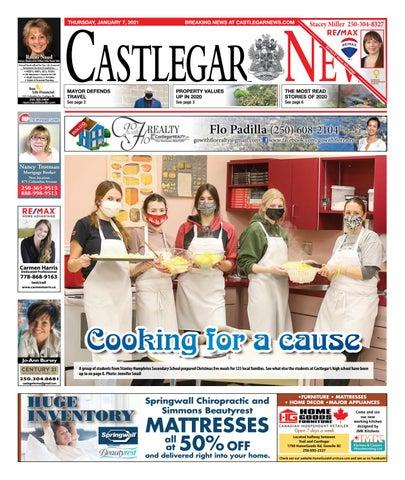 Castlegar News/West Kootenay Advertiser, January 7, 2021