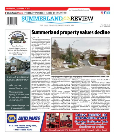 Summerland Review, January 7, 2021