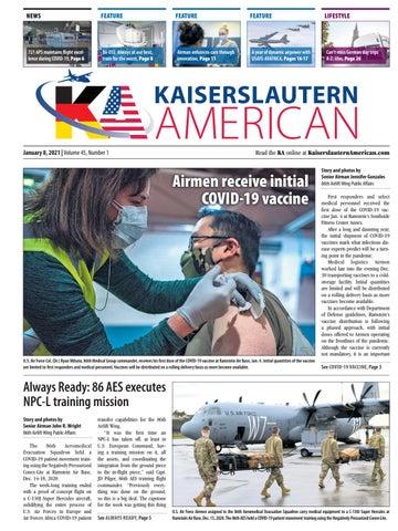 Kaiserslautern American - January 8, 2021
