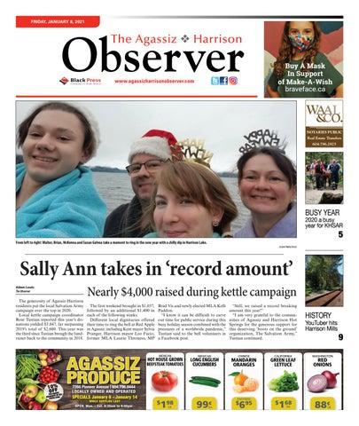 Agassiz Observer, January 8, 2021