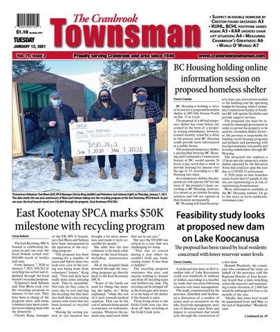 Cranbrook Daily Townsman, January 12, 2021