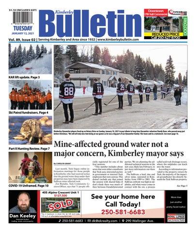 Kimberley Daily Bulletin, January 12, 2021