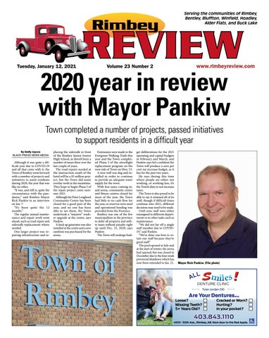 Rimbey Review, January 12, 2021