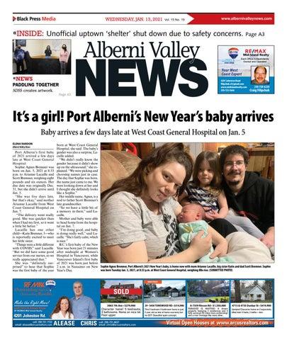 Alberni Valley News, January 13, 2021