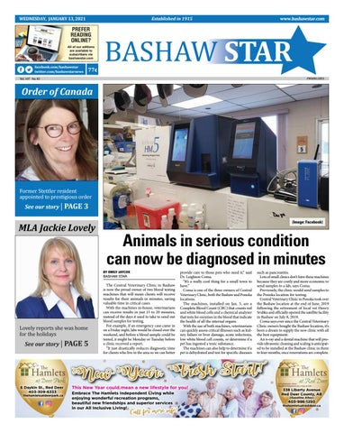 Bashaw Star, January 13, 2021