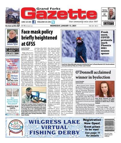Grand Forks Gazette/West Kootenay Advertiser, January 13, 2021