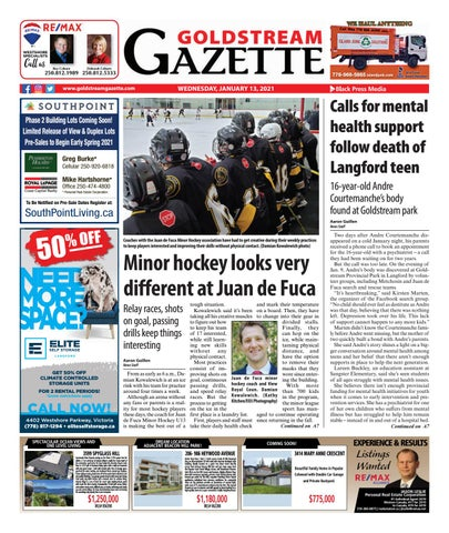 Goldstream News Gazette, January 13, 2021