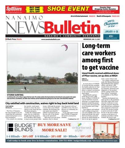 Nanaimo News Bulletin, January 13, 2021