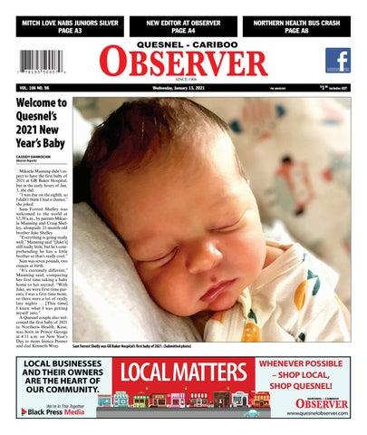 Quesnel Cariboo Observer, January 13, 2021