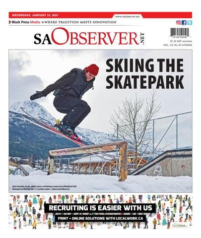 Salmon Arm Observer, January 13, 2021