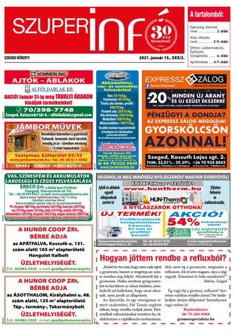 Szeged 2021.01.15