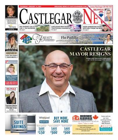 Castlegar News/West Kootenay Advertiser, January 14, 2021
