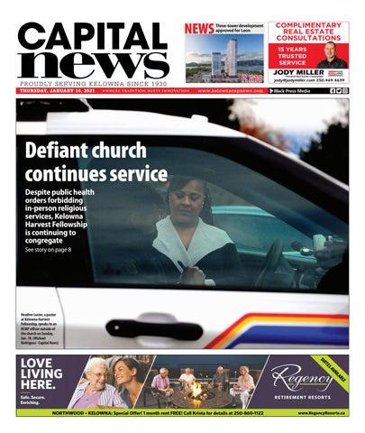 Kelowna Capital News, January 14, 2021
