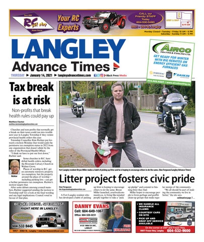 Langley Times, January 14, 2021