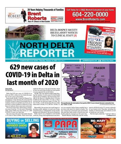 North Delta Reporter, January 14, 2021