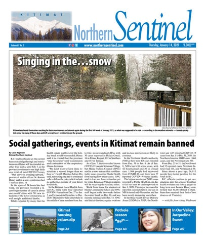 Kitimat Northern Sentinel/Northern Connector, January 14, 2021