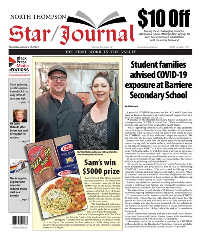 Barriere Star Journal, January 14, 2021